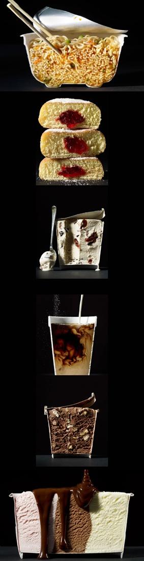 Beth Galton - Cut Food #Conceptual #food #photography