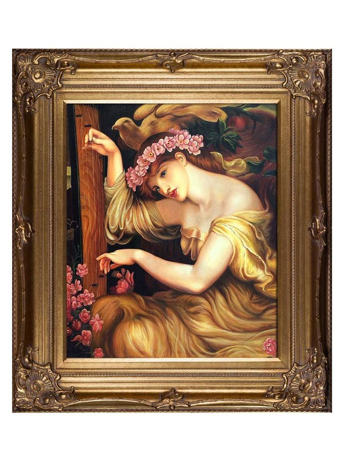 A Sea Spell by Gabriel Rossetti (Canvas) from Mediterranean Style on Gilt