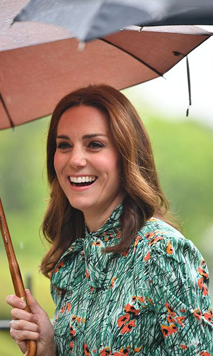 Prince William, Kate and Prince Harry visit Princess Diana garden - HELLO! Canada