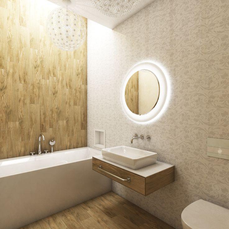 Elegant bathroom with a skylight | by CADFACE