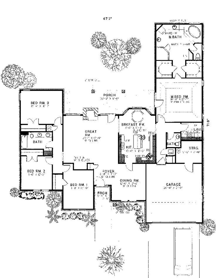Panitz signature homes floor plans home plan for Signature home designs