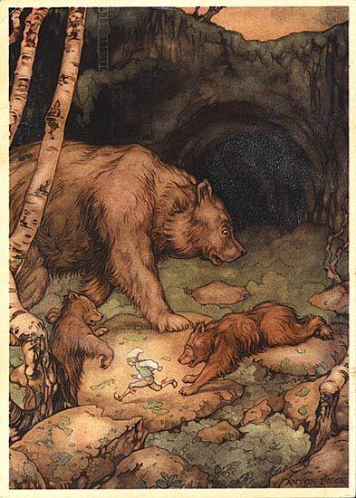 Artwork by Anton Piek (1895-1987). Dutch painter, artist and graphic artist.