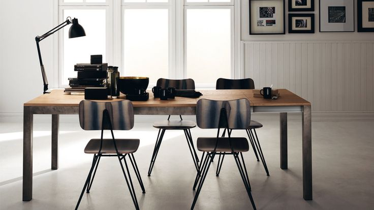 Table Industrial | Successful living accessory from Diesel with Moroso | #Scavolini #Tables #Chairs #InteriorDesign