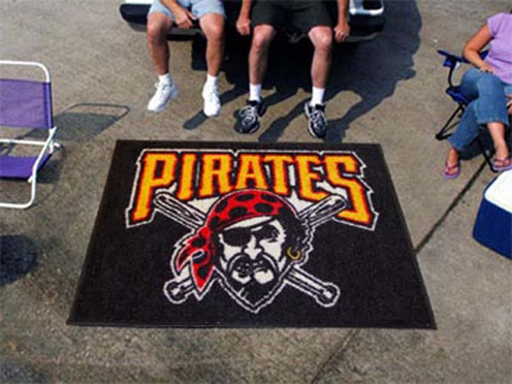5' x 6' Pittsburgh Pirates Tailgater Mat