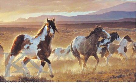 Wallpaper Wild Horses