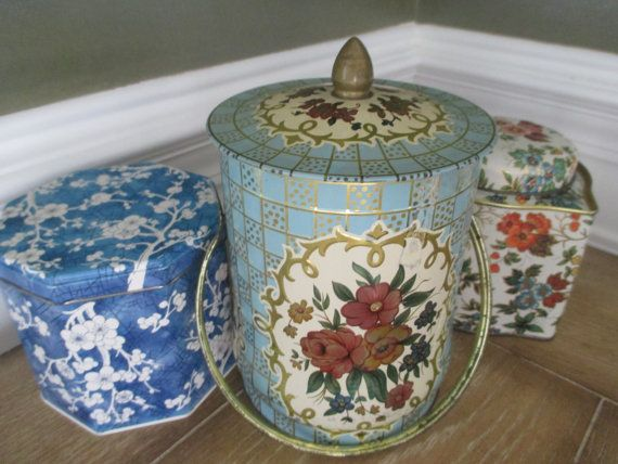 Vintage Tins ~ Insta-Collection