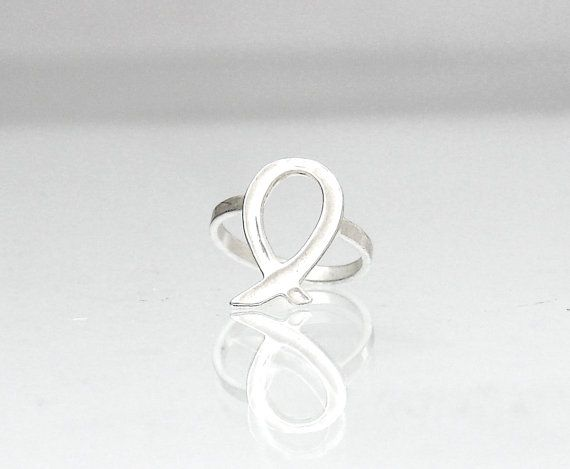 Thin Abstract Ring  Abstract Fish Ring  Abstract by profoundgarden