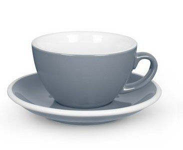 Acme Cappuccino Cup with Saucer - Blue