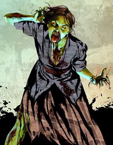 Abigail Marston: Zombie version. Red Dead Redemption