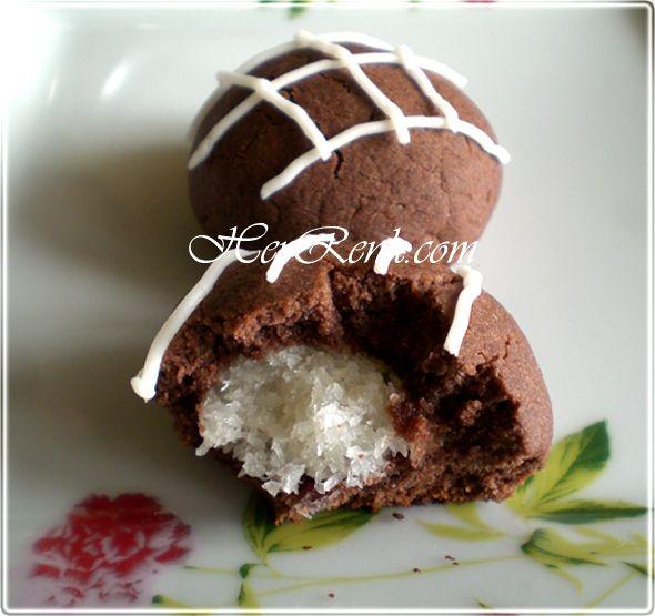 Coco/Koko Star Kurabiye-dolgulu, hindistancevizli, i�li, kakaolu, ni�astal�, ev yap�m�, �erbetli, kurabiyeler, coco star kurabiye, koko star kurabiye, kokostar kurabiye, �slak kurabiye, �erbetli kurabiye,