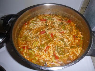 G & M - Χρώμα... Ελληνικό!    Κριθαράκι χωριάτικο με λαχανικά στην κατσαρόλα