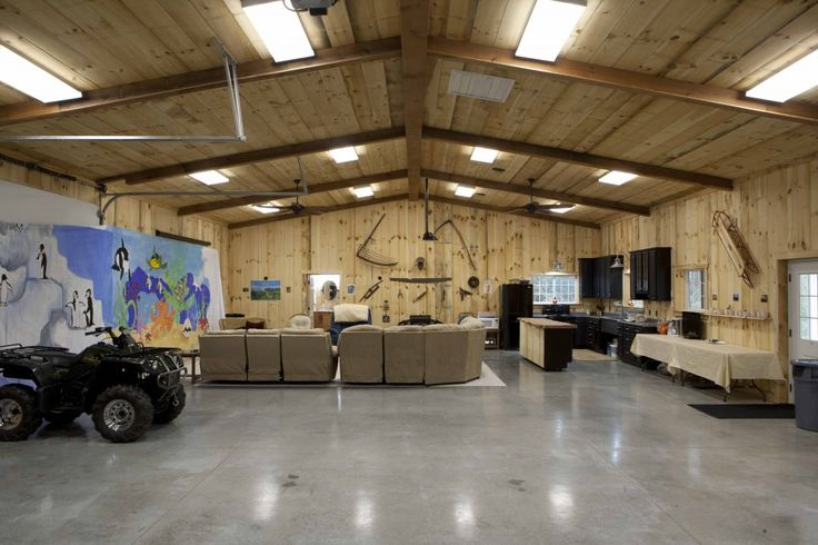 Pole Shed Man Cave : Morton buildings post and beam ideas pinterest