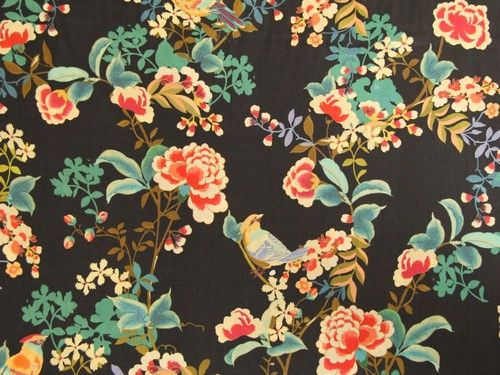A super soft lightweight brushed cotton twill dressmaking fabric.  Featuring birds and flowers this would make a lovely blouse, dress or skirt. or how about some luxury pyjama bottoms?  This fabric is 100% cotton and is 144cm wide.