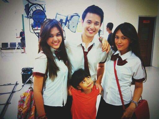 #CintaYangSama eps 5 [at] Medika Dramaga. Adisty, Nico, Alda & Bianca