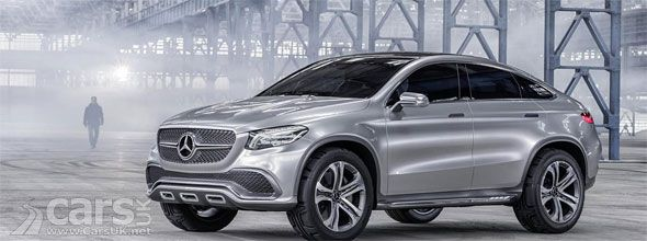 Mercedes Concept Coupe SUV previews the MLC, Mercedes' take on the BMW X6. http://www.carsuk.net/mercedes-concept-coupe-suv-previews-mlc-mercedes-take-bmw-x6/