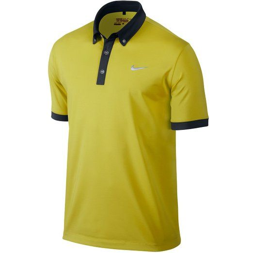 Utilizing Dri-FIT fabric to wick away sweat this mens ultra polo 2.0 golf shirt by Nike will ensure you stay dry and comfortable when out on the course