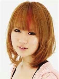 model rambut bob untuk wajah bulat