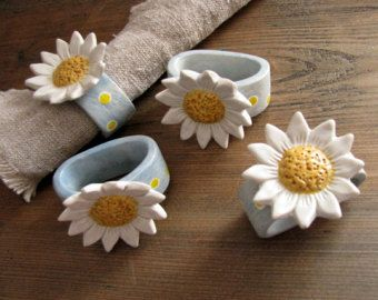 Image result for ceramic napkin rings