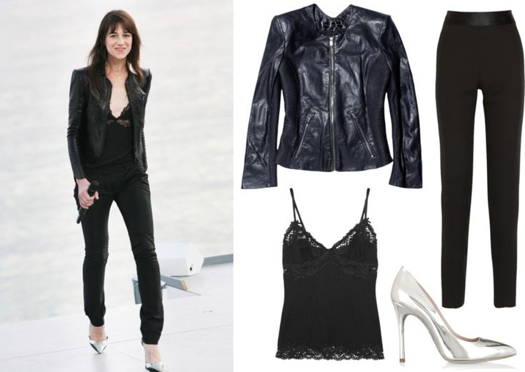 Charlotte Gainsbourg - french chic