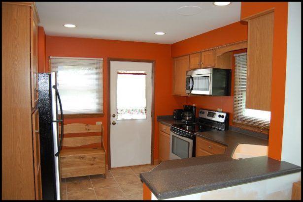 Kitchen:Kitchens Painted Orange Kitchens Painted Orange Photo