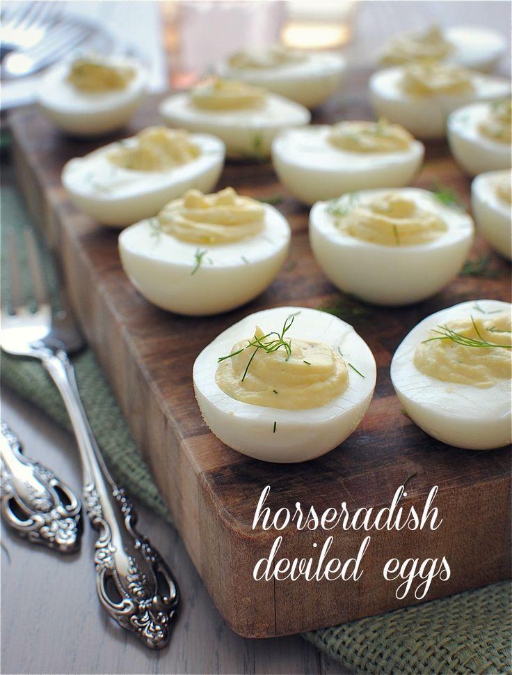 Horseradish Deviled Eggs for Jenny's Baby Shower! | Bev Cooks ...