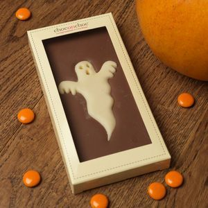 Chocolate Ghost | From trick or treating and pumpkin carving, to watching scary movies and having a party, there's so much you can enjoy on the spookiest night of the year. Time to get Halloween-ready with tasty treats.