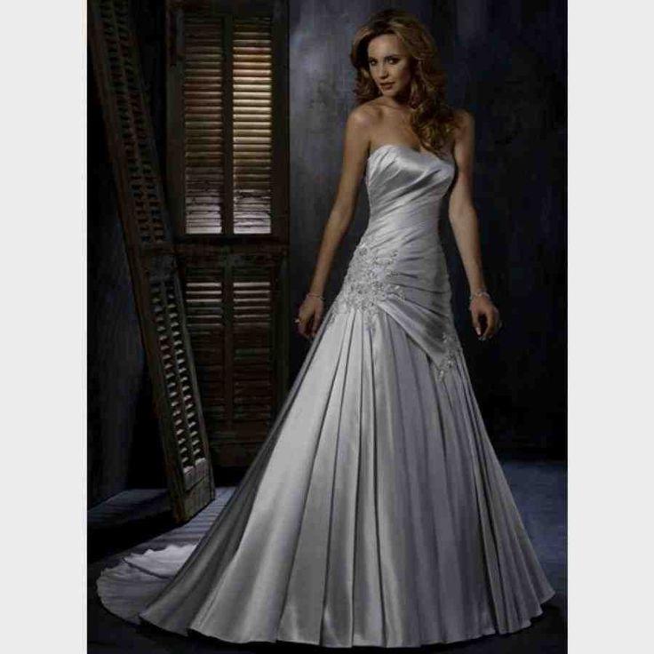 19 best Silver Wedding Dresses images on Pinterest | Wedding frocks ...