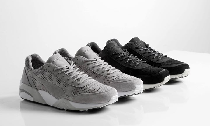 Closer look at the STAMPD X PUMA R698. Coming 17th October. http://ift.tt/1jzZruy