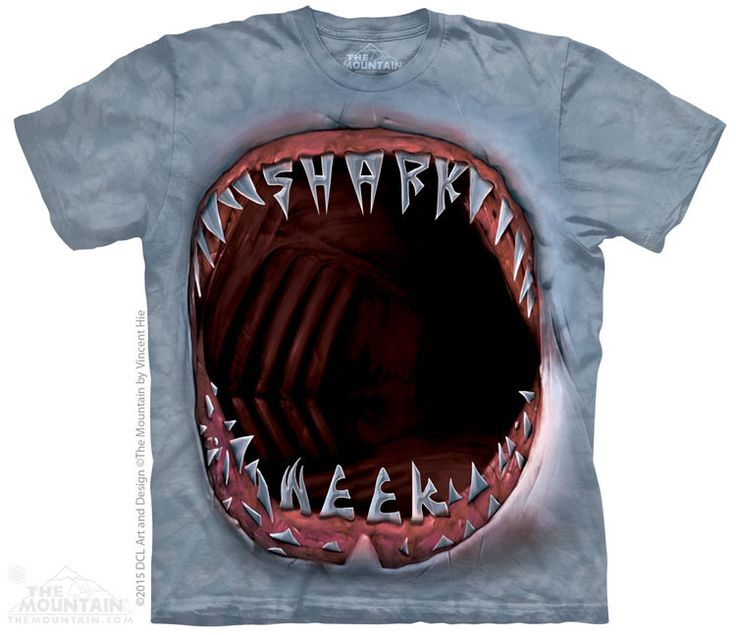 OWN THE SUMMER with NEW Shark Week tees by The Mountain! A pop-culture phenomenon, Shark Week is quickly becoming a major shopping holiday. Don't miss this unique opportunity to offer your customers t