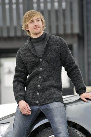 1011: Modell 23 Higgins jakke #strikk #knit #fjells