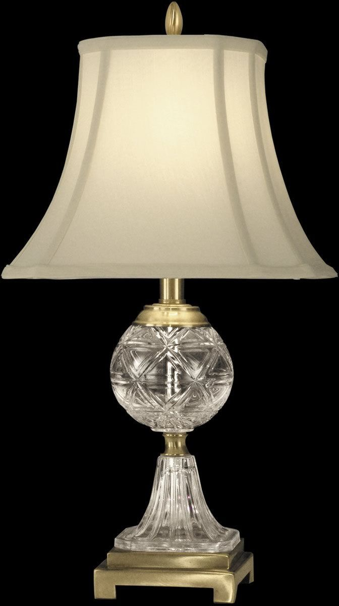 24 H 1 Light 3 Way Glass Crystal Table Lamp Antique Brass In 2021 Table Lamp Lamp Crystal Table Lamps