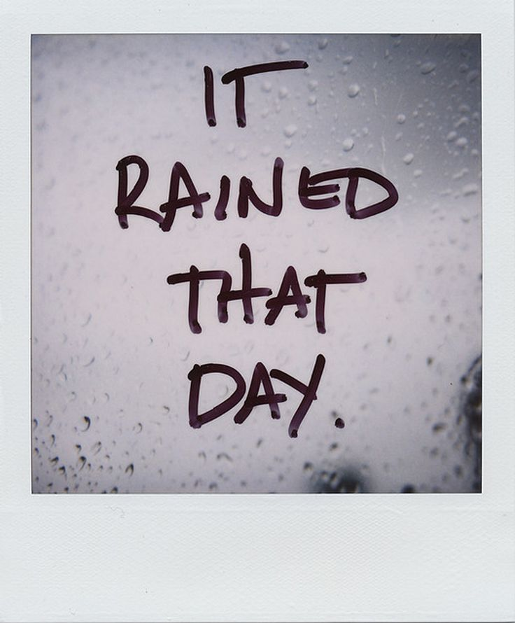 Quotes About Rainy Days: 33 Best Images About Rainy Weather Quotes On Pinterest
