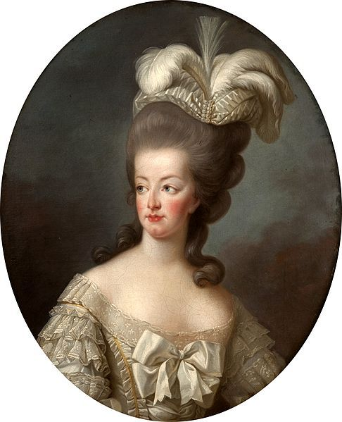 Get Thee to a Nunnery — Portrait of Marie-Antoinette, Queen of France...