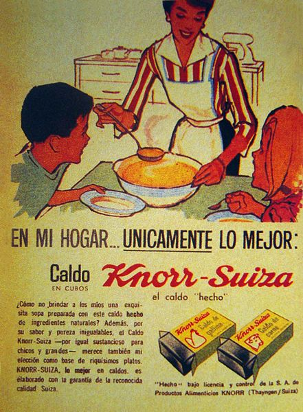 Caldos Knorr Suiza. #Multicultural, Rich in History, Culture and Traditions; in keeping with my story http://www.amazon.com/With-Love-The-Argentina-Family/dp/1478205458
