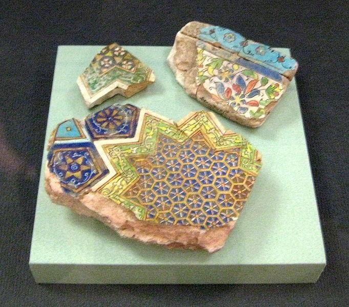 гексагональный орнамент со времен Золотой Орды