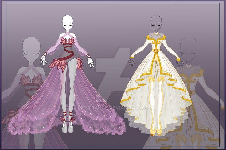 [Close]  Adoptable Outfit Auction 8-9 by LifStrange.deviantart.com on @DeviantArt