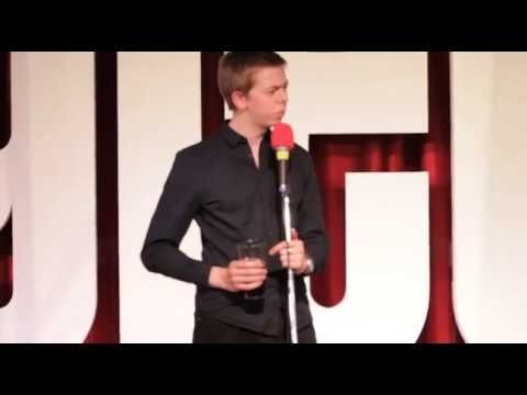 Comedian Chris Turner Performs a Series of Bitingly Clever One-Liners