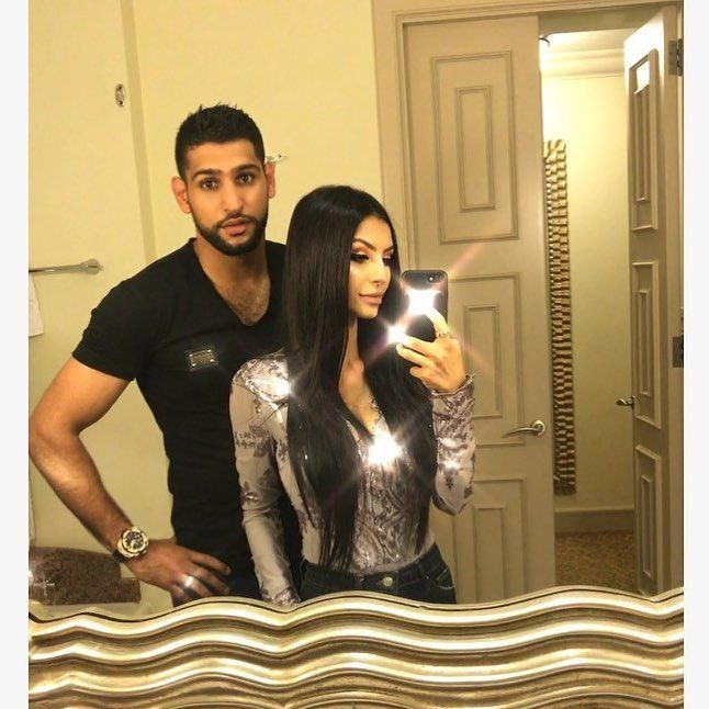 Black #Cosmopolitan BlkCosmo SHOCK EXCLUSIVE: Boxing Star Amir Khan . . . Says His Wife Was CHEATING On Him . . . With Heavyweight Champ Anthony Joshua!!   #Amir, #AmirKhan, #AnthonyJoshua, #Boxing, #GoldenBoyPromotions, #HBOSports, #PunjabiPeople          August 4, 2017: UK boxing star Amir Khan has just left his wife – and it is VERY Messy. According to Amir, he caught his wife Faryal cheating on him – with another boxer. Amir claims she was giving it up to Heavywei