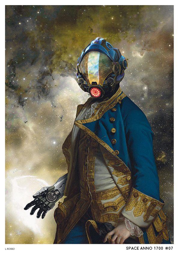 Space Anno 1700 #07 Photobashing & Painting - Adobe Photoshop