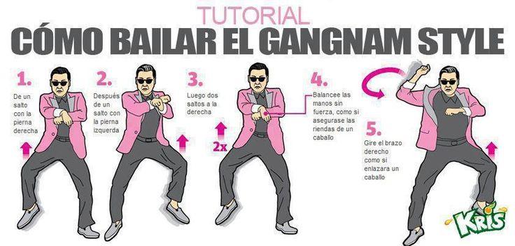Como bailar al estilo Gangnam   Formal command