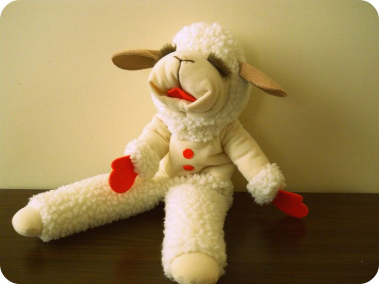 Lamb Chop's Puppet from Lamb Chop's Play-Along with Shari Lewis. $22.39, via Etsy.