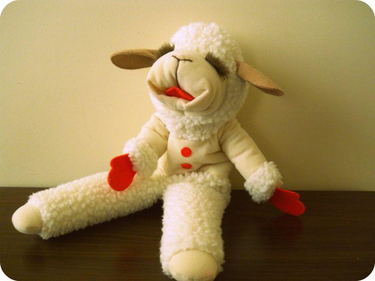 Lamb Chop's Puppet from Lamb Chop's Play-Along with Shari Lewis. $22.39, via Etsy.