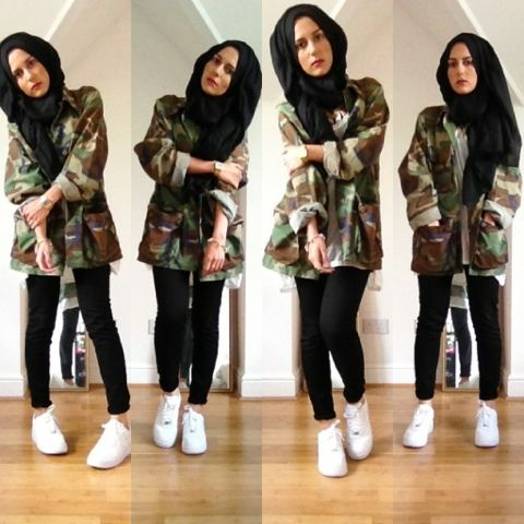 Be cool and wear hijab ;p