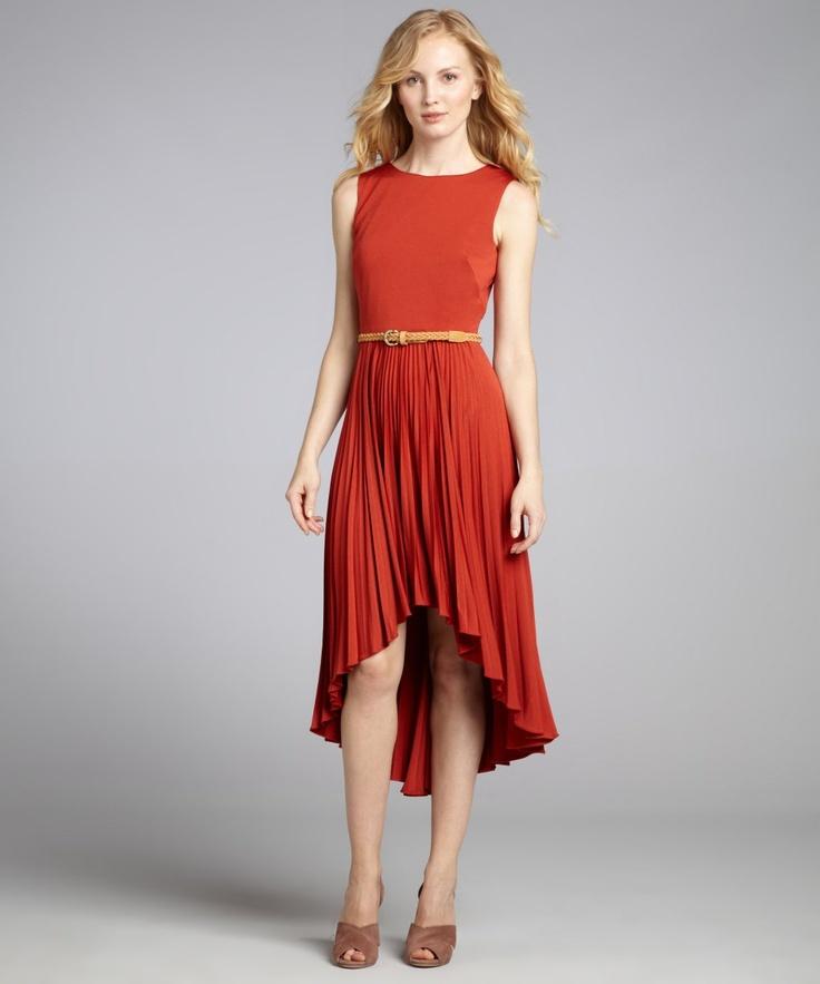 Suzi Chin cedar stretch jersey sleeveless high low belted dress: Low Belts, Jersey Sleeveless, Cedar Stretch, Dresses 90, Stretch Jersey, Sleeveless High, High Low, Suzy Chin, Belts Dresses
