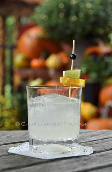 Stripped down, the White Witch is basically the ever popular classic Daiquiri cocktail with hints of chocolaty orange flavor. Club soda thins it out a bit. Tastes fabulous! {photo credit: Mixologist Cheri Loughlin www.intoxicologist.net}
