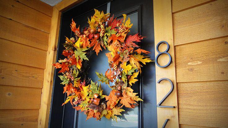Autumn Inspired Wreath: Under $30