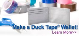 Creativity Corner:  May 2--Instructions on how to make a duct (DUCK) tape wallet.  Here's a link for the duct tape flowers--http://duckbrand.com/duck-tape-club/ducktivities/flowers-and-roses/how-to-make-a-duck-tape-rose