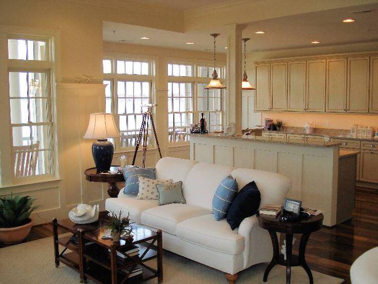 Raw Food Kitchen Ideas | Elegant-Living-Room-Kitchen-2 | Home