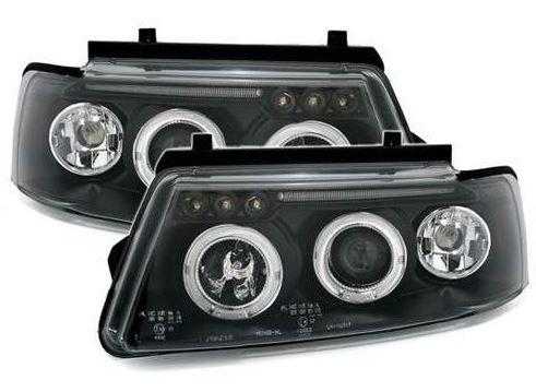 Volkswagen passat 19962000 black angel eyes headlights