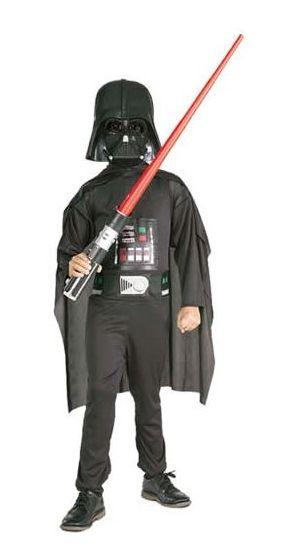 Darth Vader Box: Kinder Kostüm mit Lichtschwert & Maske